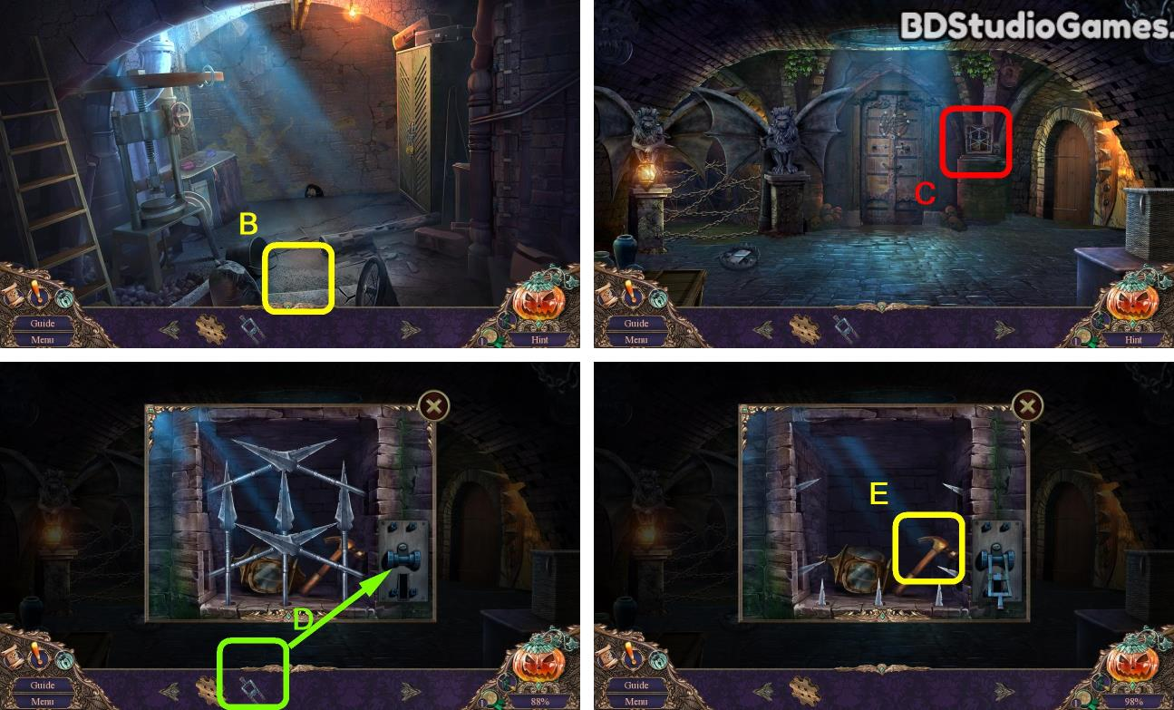 Haunted Manor: Halloween's Uninvited Guest Bonus Chapter Walkthrough Screenshot 0004