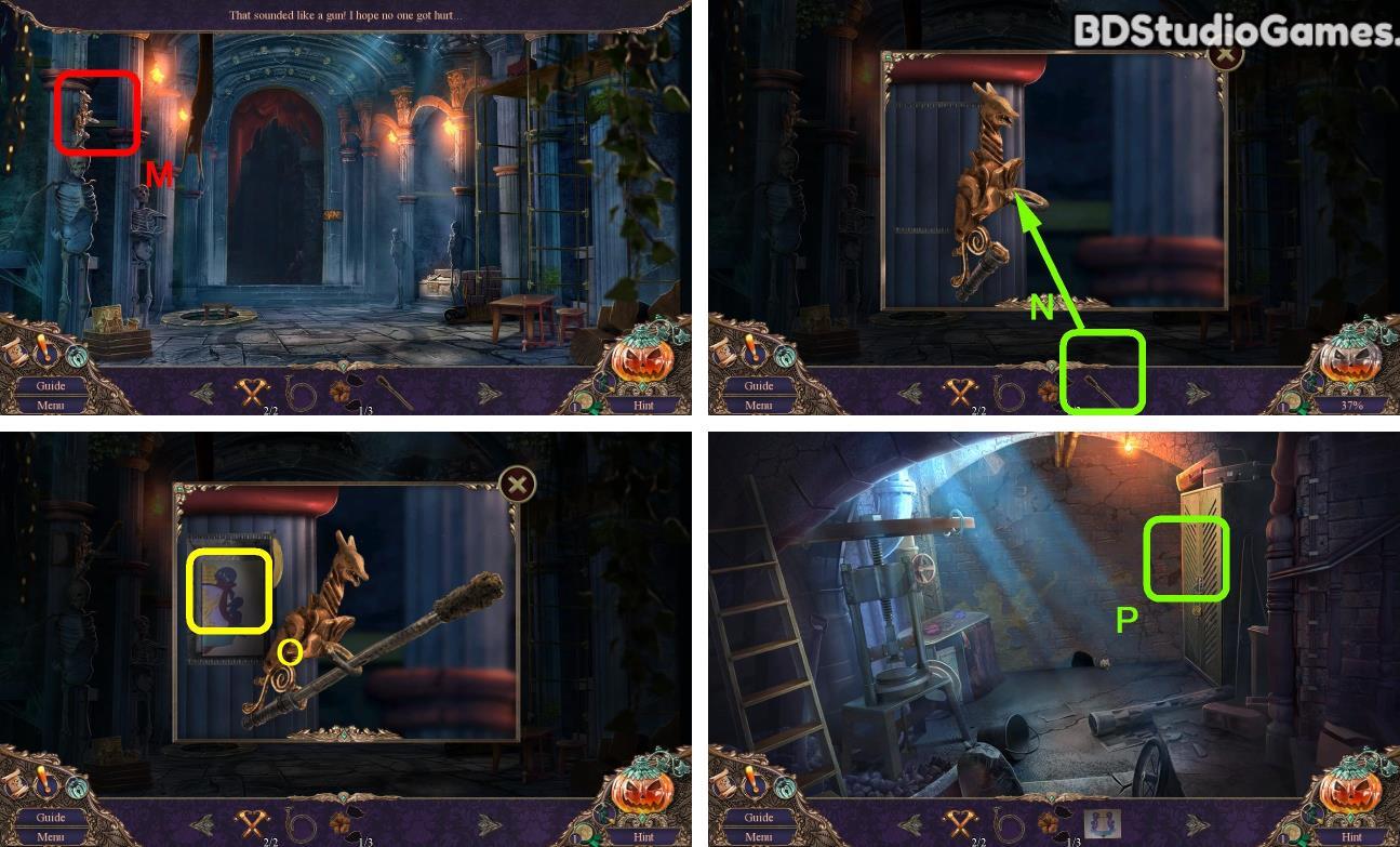 Haunted Manor: Halloween's Uninvited Guest Bonus Chapter Walkthrough Screenshot 0019