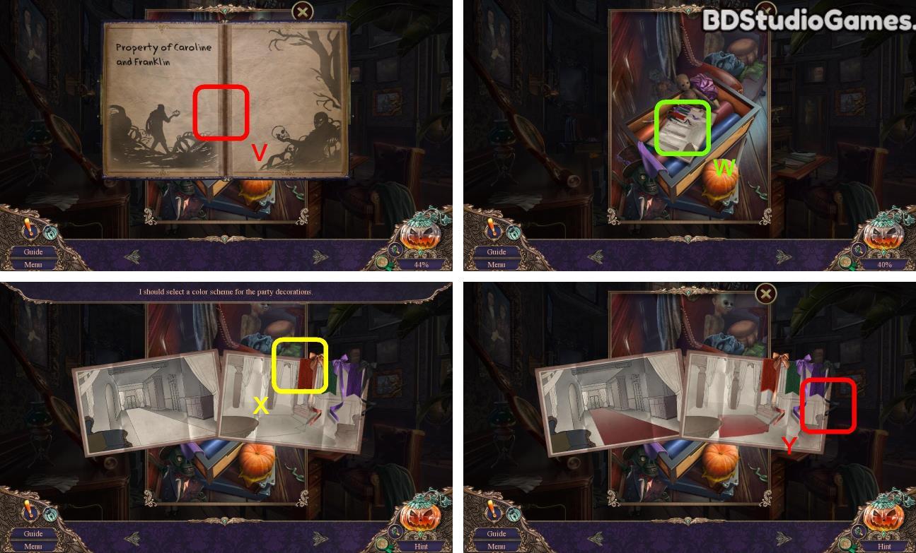 Haunted Manor: Halloween's Uninvited Guest Walkthrough Screenshot 0006