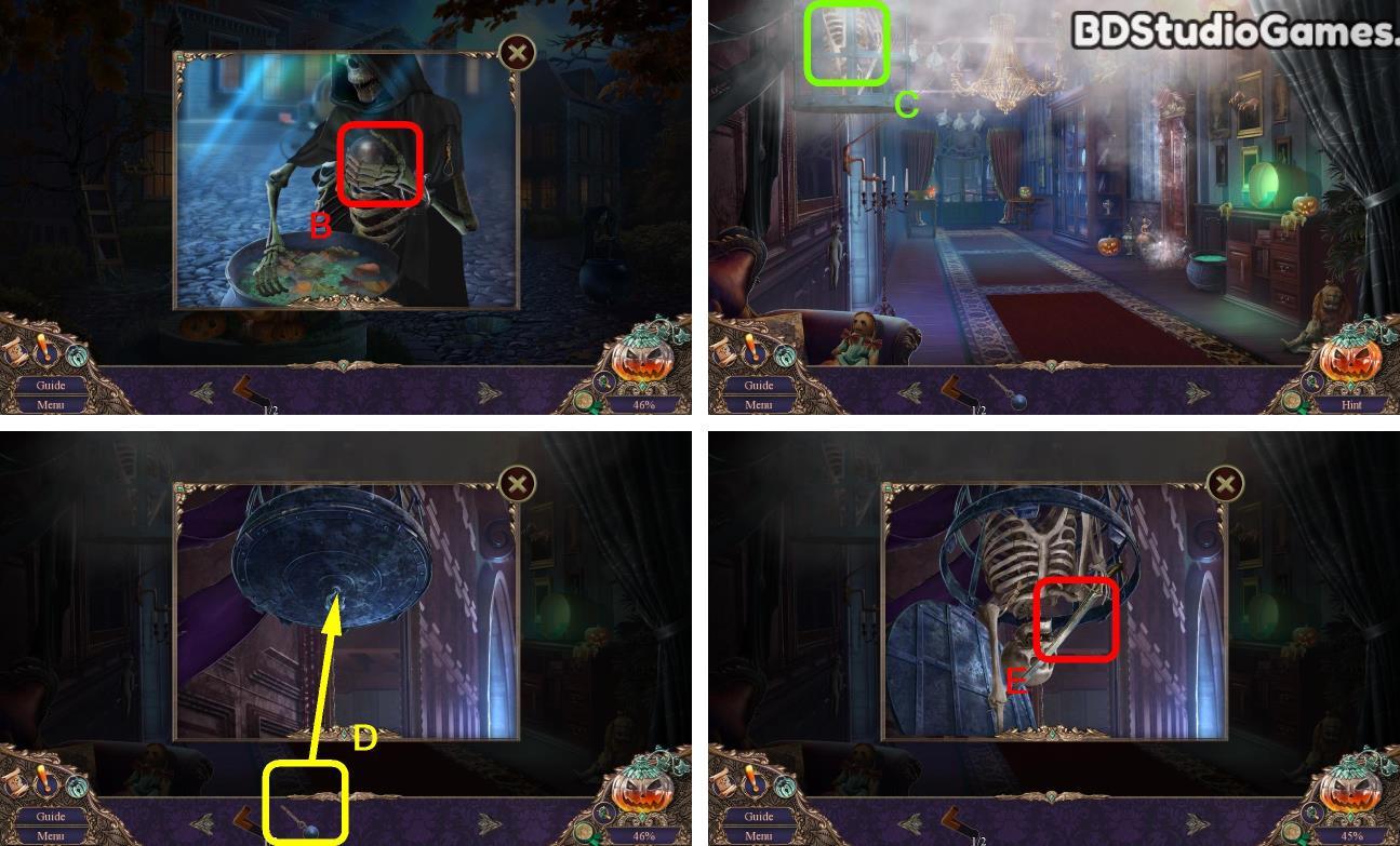 Haunted Manor: Halloween's Uninvited Guest Walkthrough Screenshot 0021