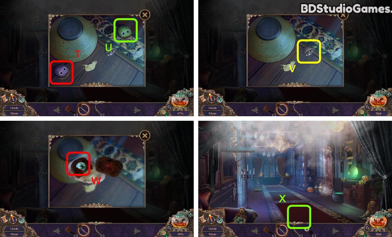 Haunted Manor: Halloween's Uninvited Guest Walkthrough Screenshot 0024