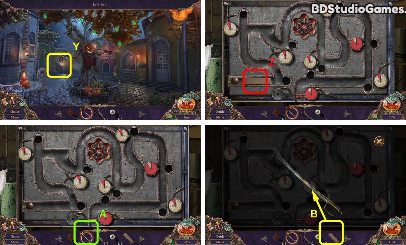 Haunted Manor: Halloween's Uninvited Guest Walkthrough Screenshot 0025