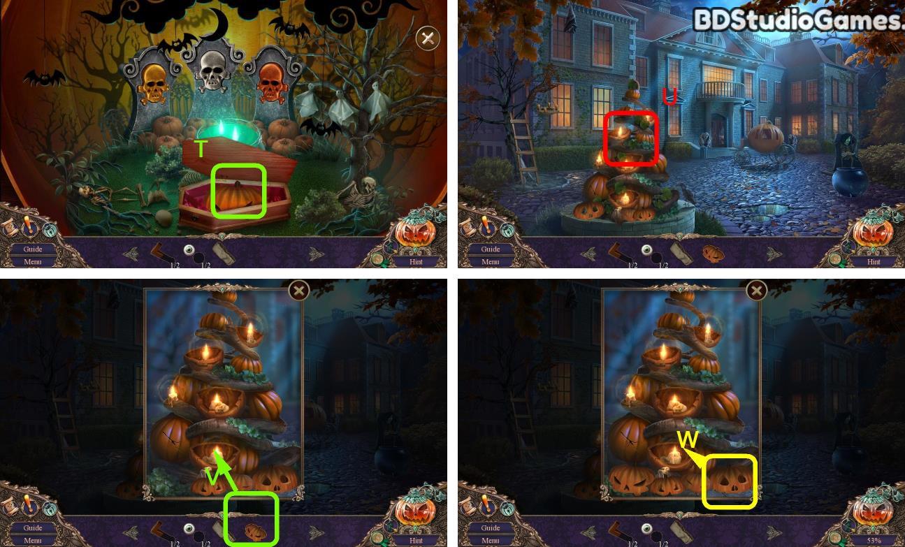 Haunted Manor: Halloween's Uninvited Guest Walkthrough Screenshot 0036