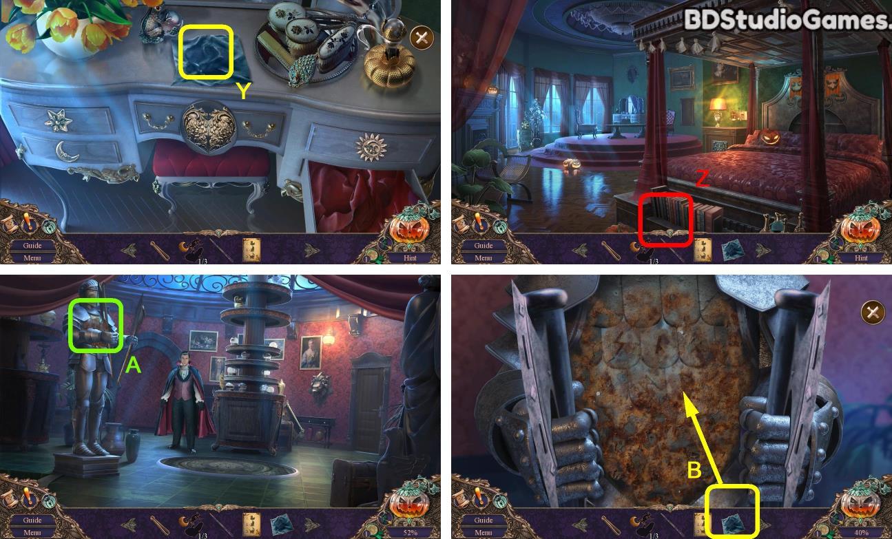 Haunted Manor: Halloween's Uninvited Guest Walkthrough Screenshot 0105