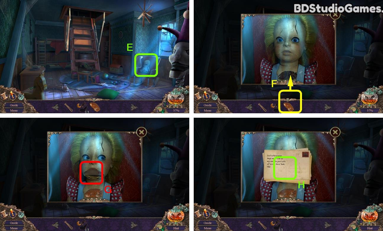 Haunted Manor: Halloween's Uninvited Guest Walkthrough Screenshot 0112