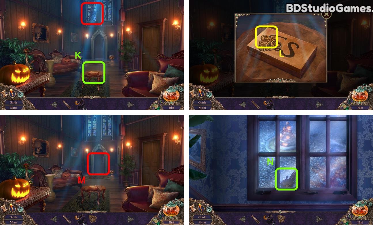 Haunted Manor: Halloween's Uninvited Guest Walkthrough Screenshot 0120