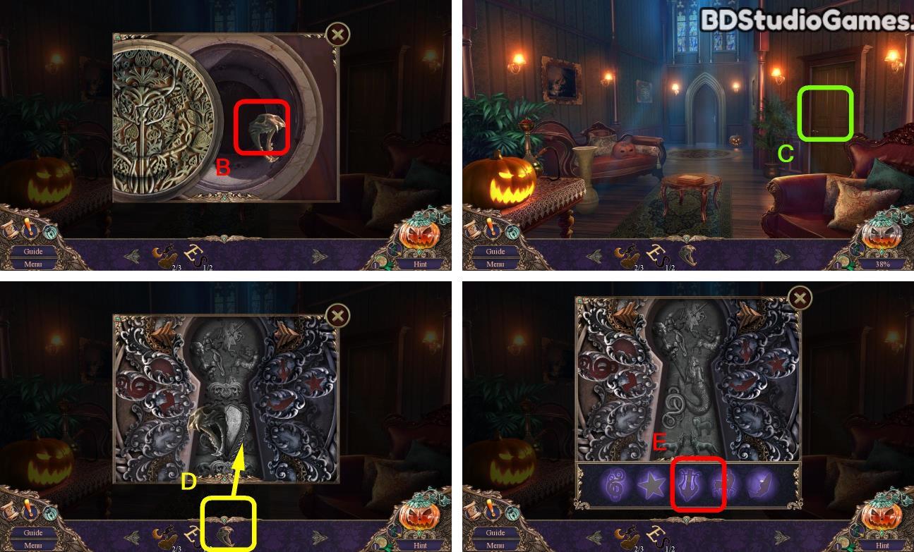 Haunted Manor: Halloween's Uninvited Guest Walkthrough Screenshot 0124