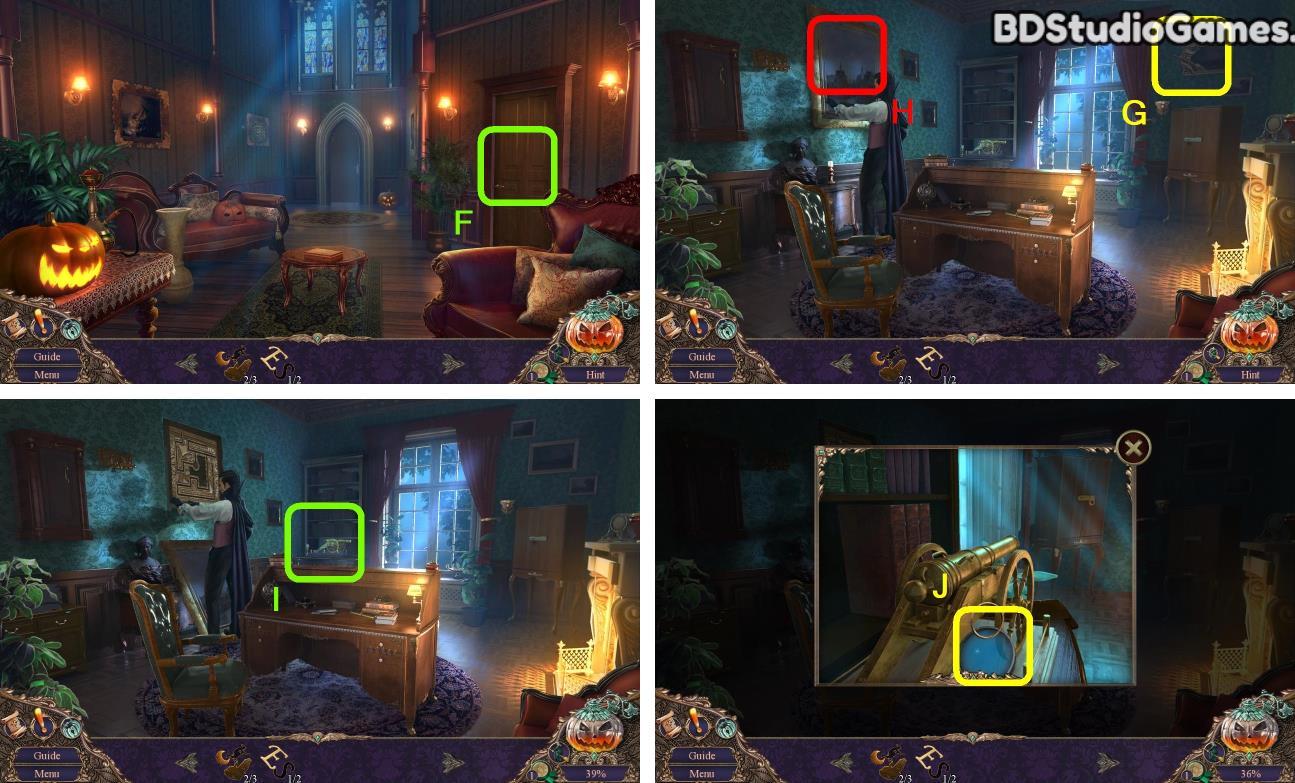 Haunted Manor: Halloween's Uninvited Guest Walkthrough Screenshot 0125