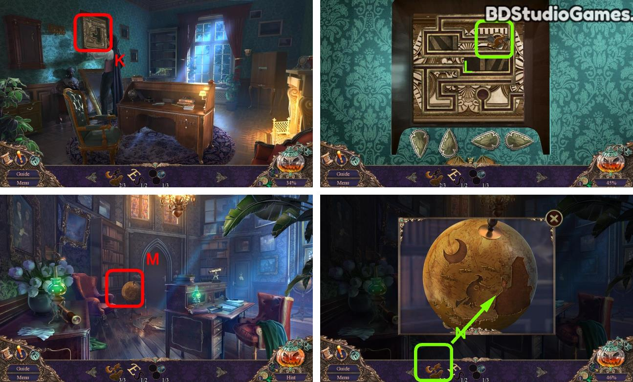 Haunted Manor: Halloween's Uninvited Guest Walkthrough Screenshot 0126