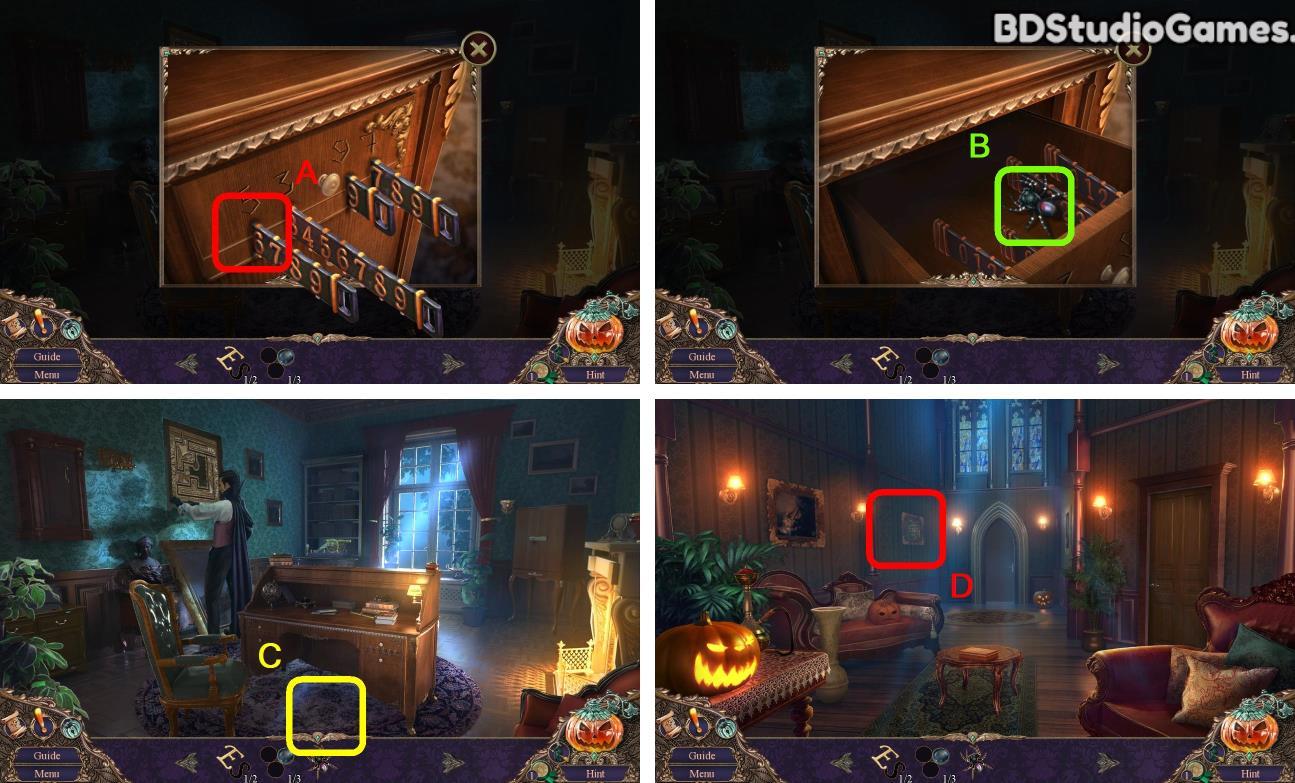 Haunted Manor: Halloween's Uninvited Guest Walkthrough Screenshot 0130