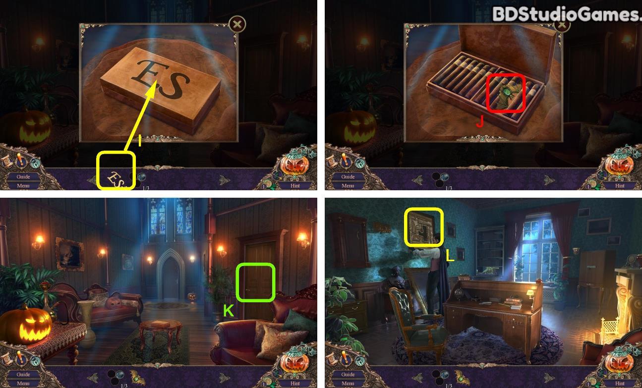 Haunted Manor: Halloween's Uninvited Guest Walkthrough Screenshot 0132