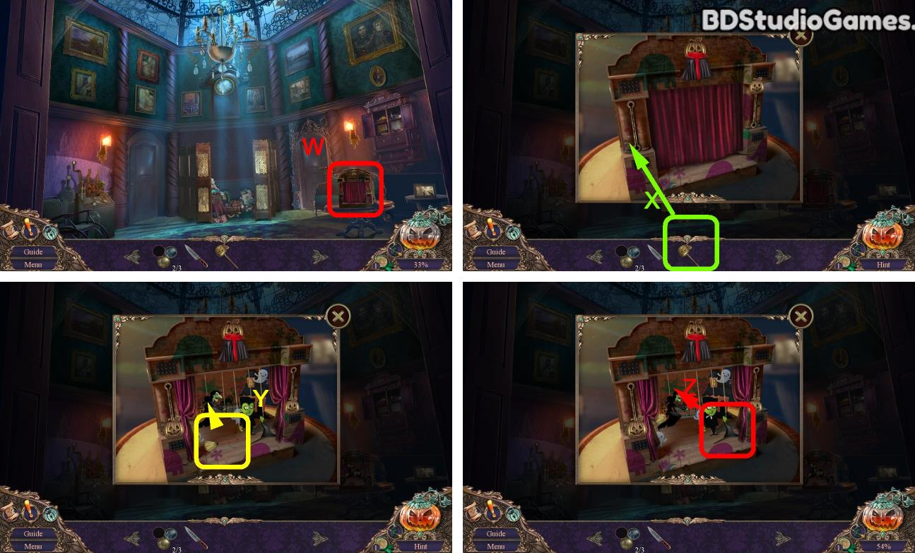 Haunted Manor: Halloween's Uninvited Guest Walkthrough Screenshot 0148