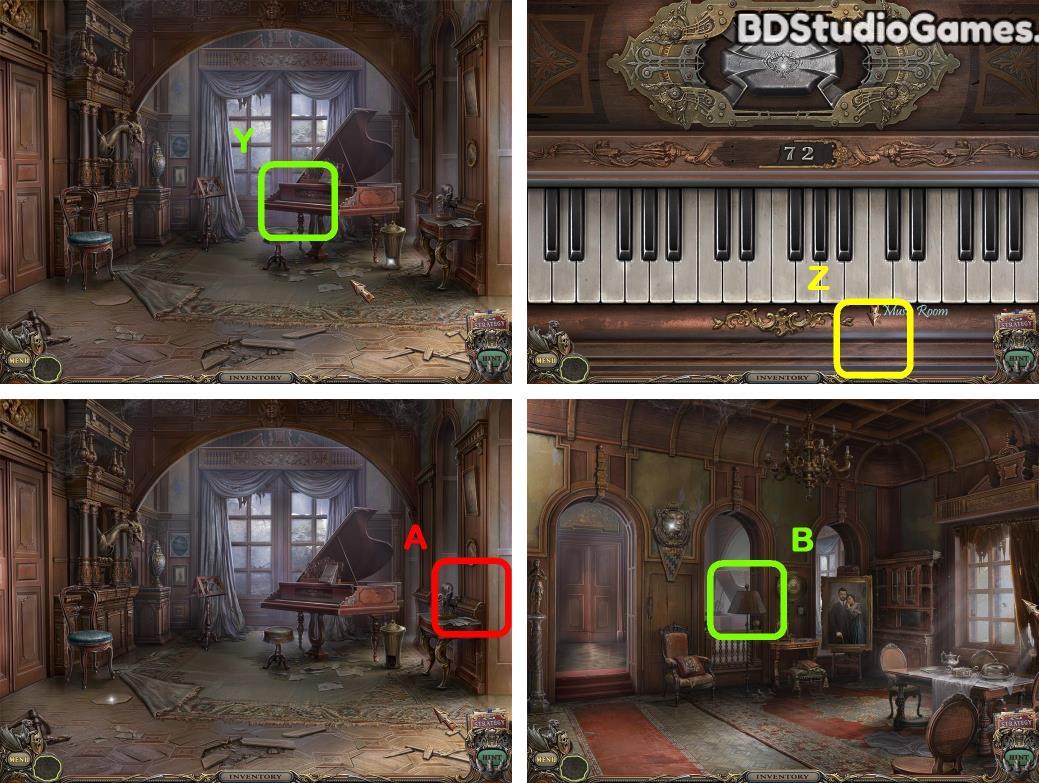 Haunted Manor: Queen of Death Walkthrough Screenshot 0044