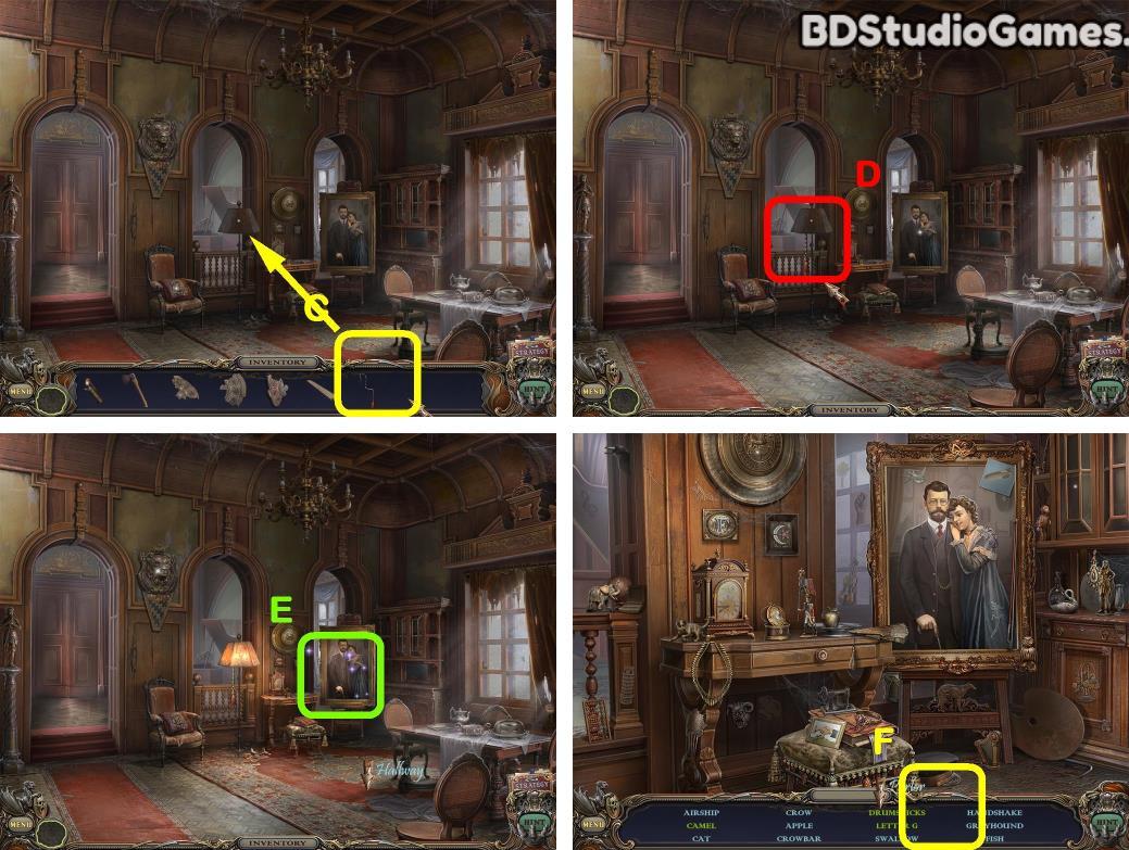 Haunted Manor: Queen of Death Walkthrough Screenshot 0045
