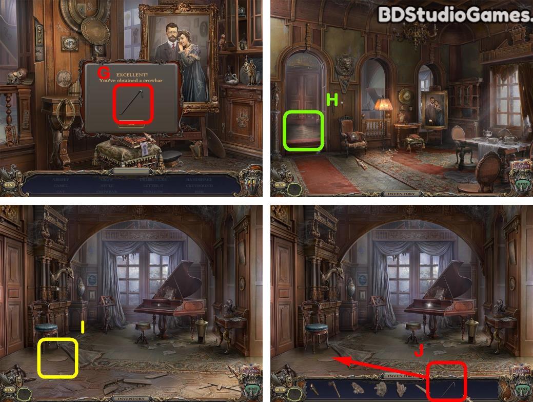 Haunted Manor: Queen of Death Walkthrough Screenshot 0046
