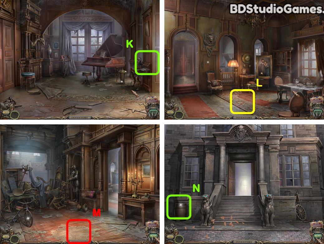 Haunted Manor: Queen of Death Walkthrough Screenshot 0047