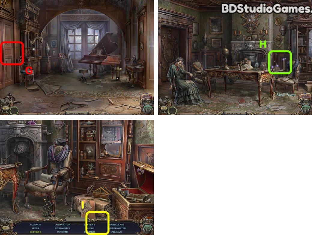 Haunted Manor: Queen of Death Walkthrough Screenshot 0053