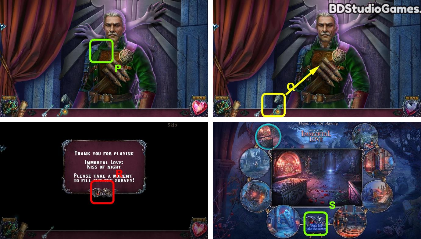 Immortal Love: Kiss Of Night Beta Version Walkthrough Screenshot 0088