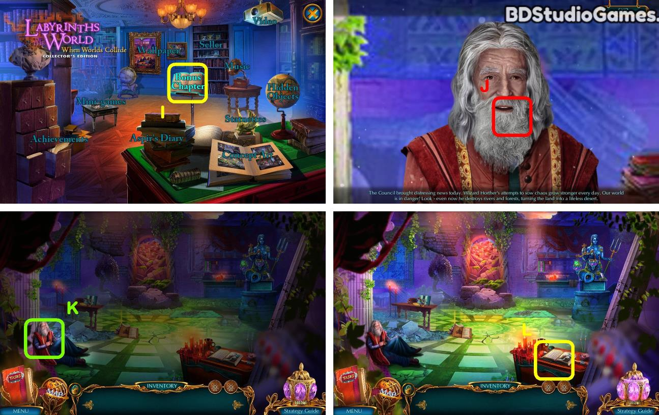 Labyrinths of the World: When Worlds Collide Bonus Chapter Walkthrough Screenshot