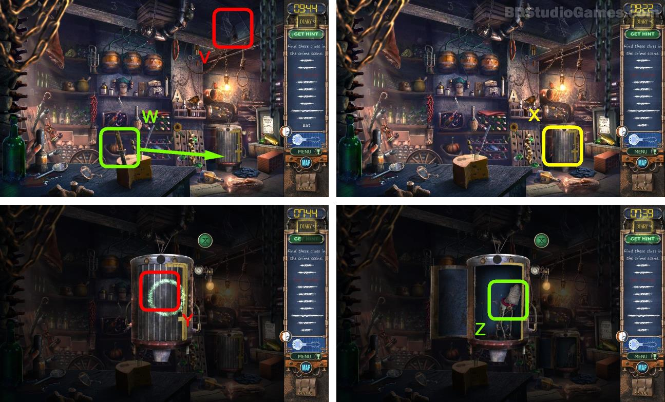 Mystery Case Files: Rewind Walkthrough Screenshot
