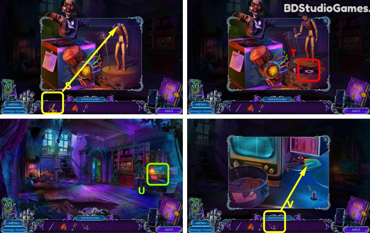 Mystery Tales: The Reel Horror Walkthrough Screenshot 0112