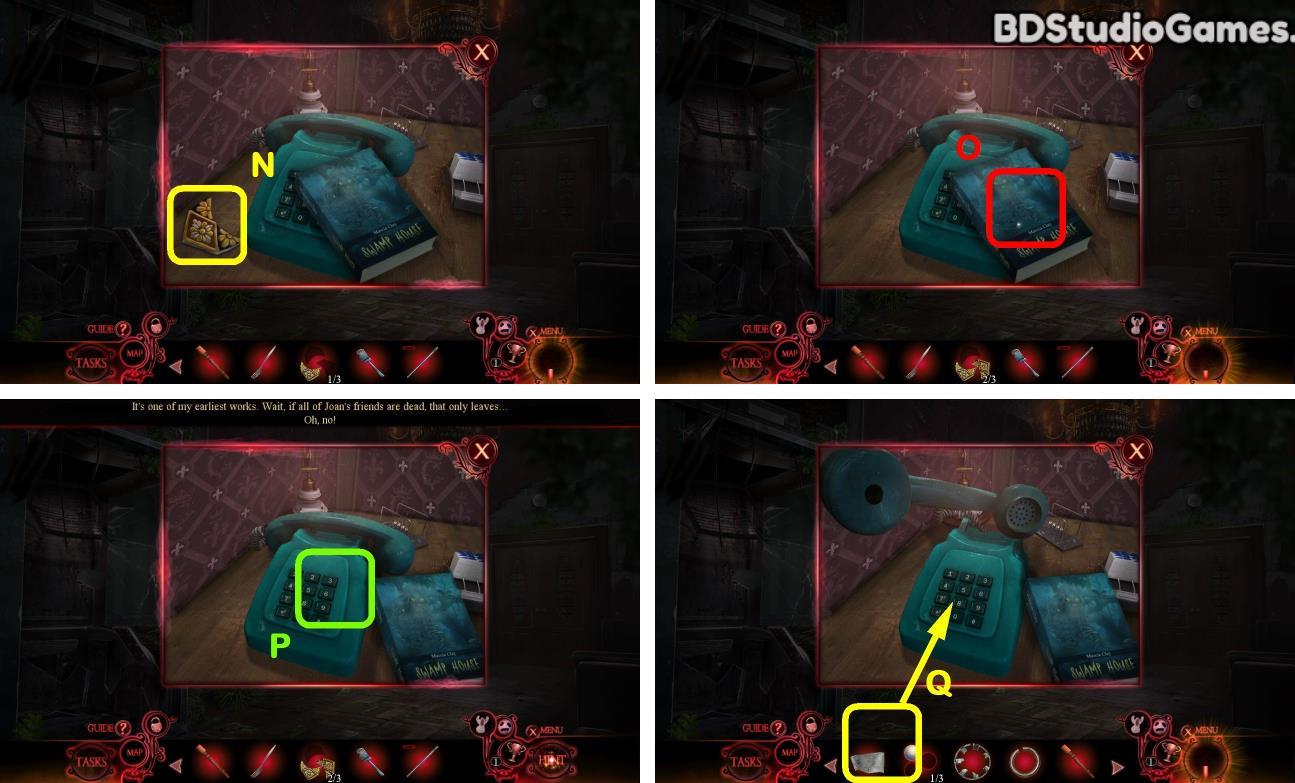 Phantasmat: Death in Hardcover Walkthrough Screenshot 0144