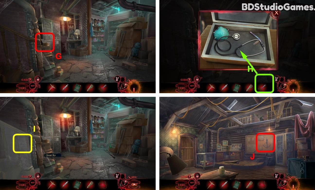 Phantasmat: Death in Hardcover Walkthrough Screenshot 0209