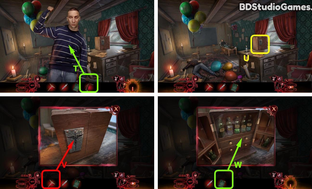 Phantasmat: Death in Hardcover Walkthrough Screenshot 0212
