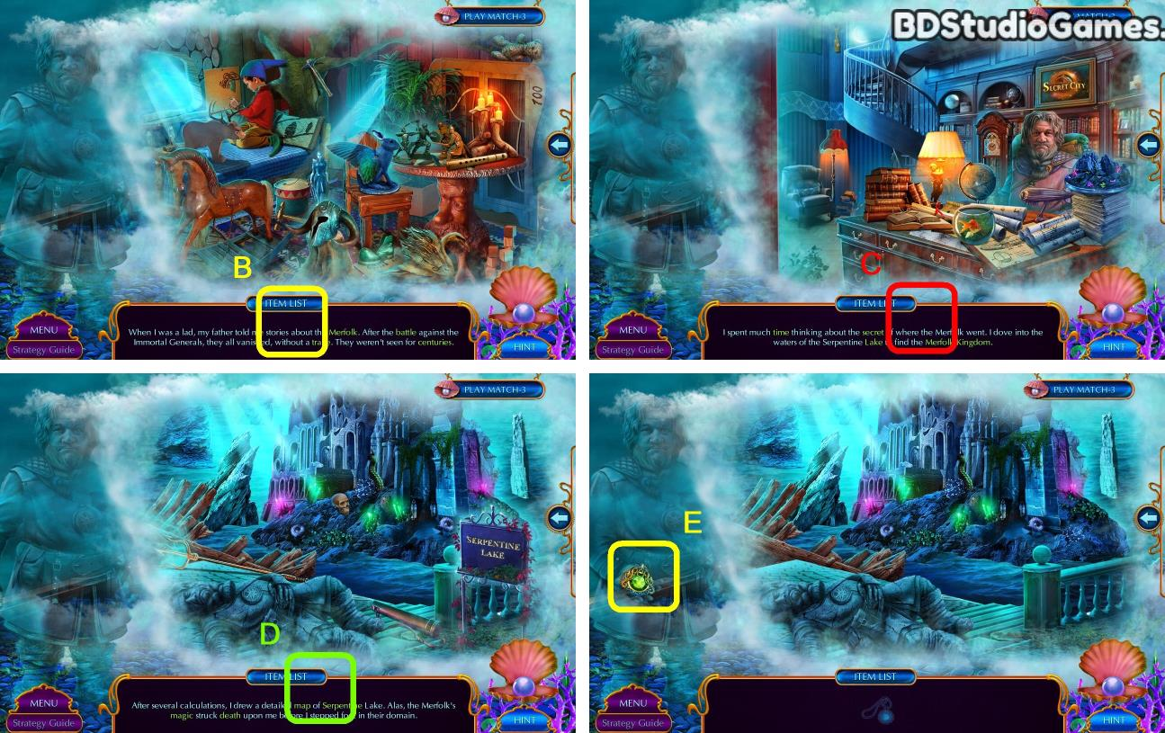 Secret City: The Sunken Kingdom Walkthrough Screenshot 0007