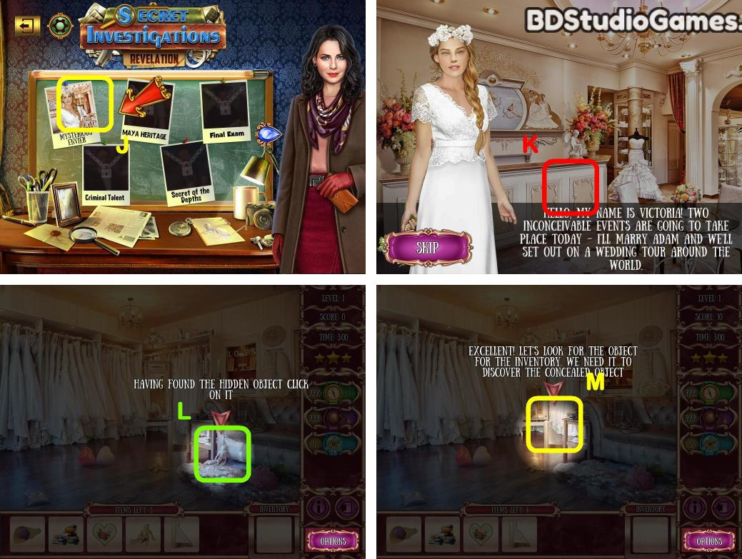 Secret Investigations: Revelations Walkthrough Screenshot 0001