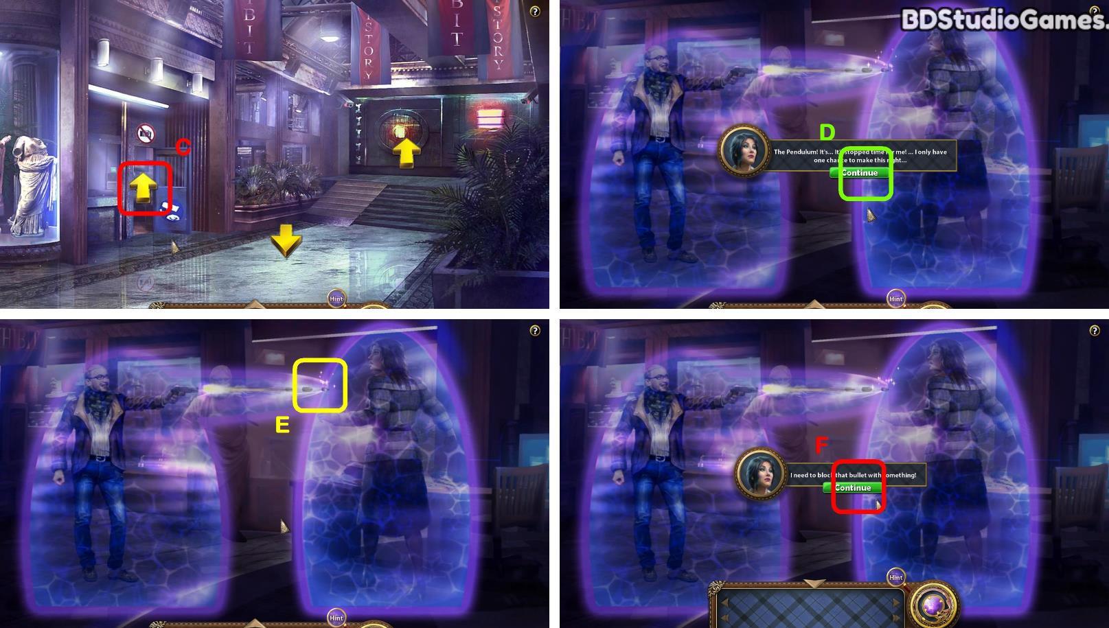 Secret of the Pendulum Walkthrough Screenshot