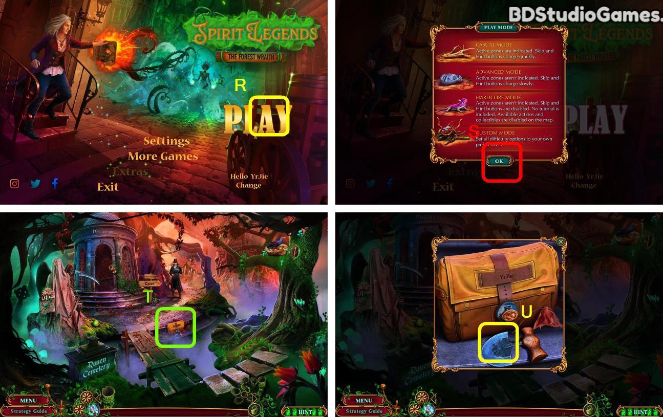 Spirit Legends: The Forest Wraith Walkthrough Screenshot 0001
