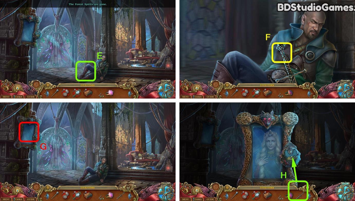 Spirits of Mystery: The Lost Queen Walkthrough Screenshot