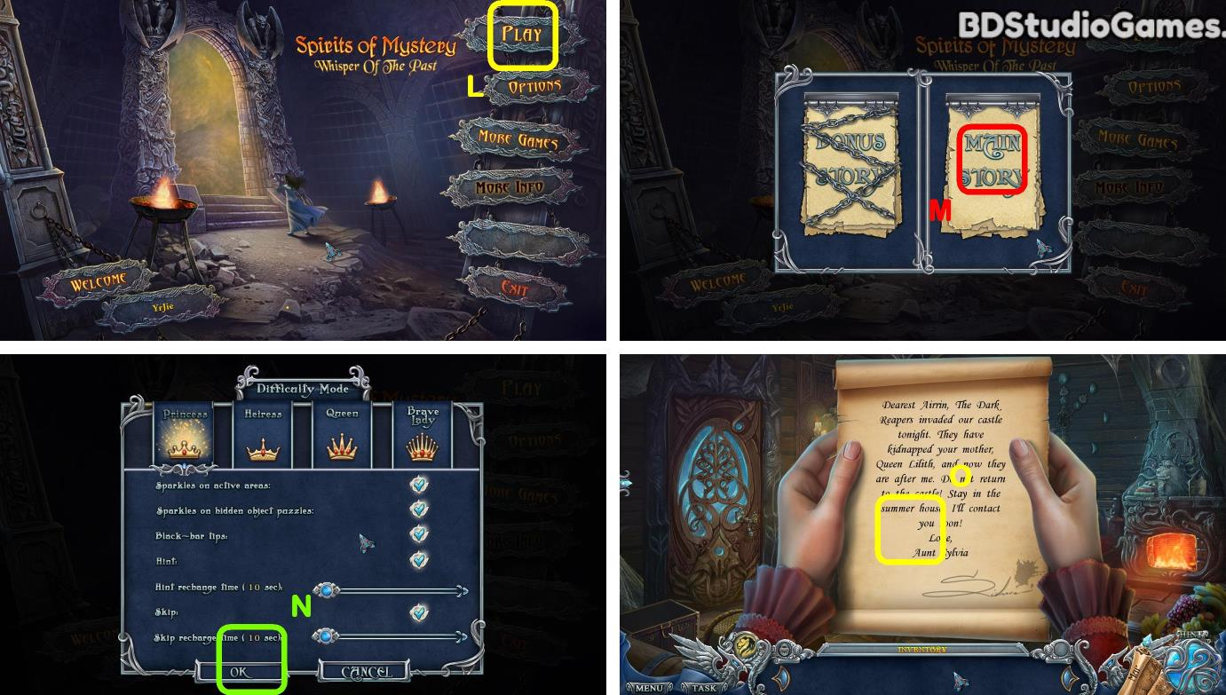 Spirits Of Mystery: Whisper Of The Past Walkthrough Screenshot 0001