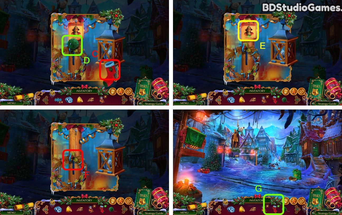 The Christmas Spirit: Mother Gooses Untold Tales Walkthrough Screenshot 0007