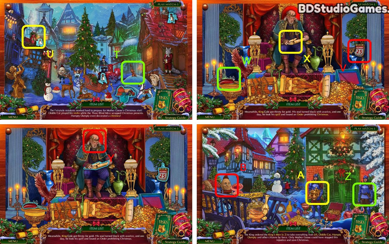 The Christmas Spirit: Mother Gooses Untold Tales Walkthrough Screenshot 0010