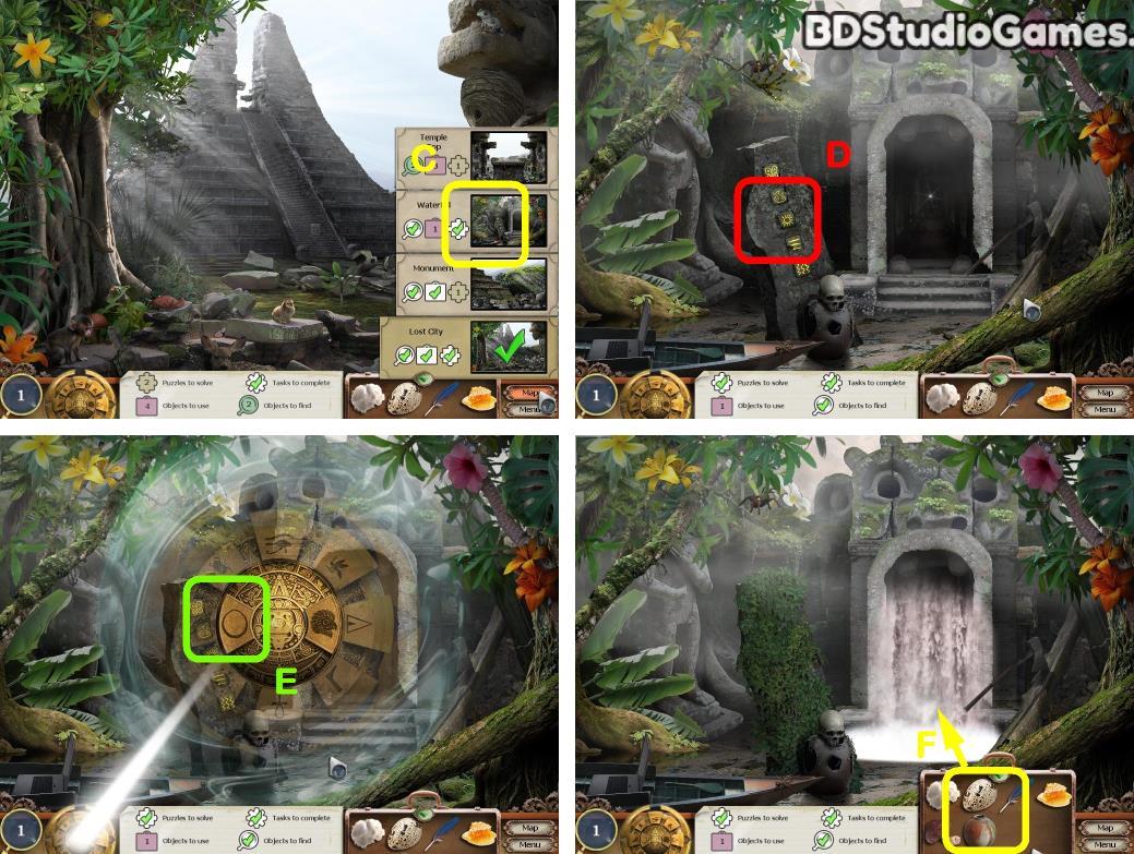 Treasure Masters, Inc.: The Lost City Walkthrough Screenshot 0172