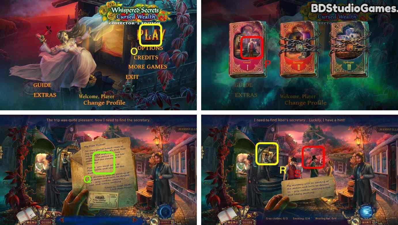 Whispered Secrets: Cursed Wealth Walkthrough Screenshot 0001
