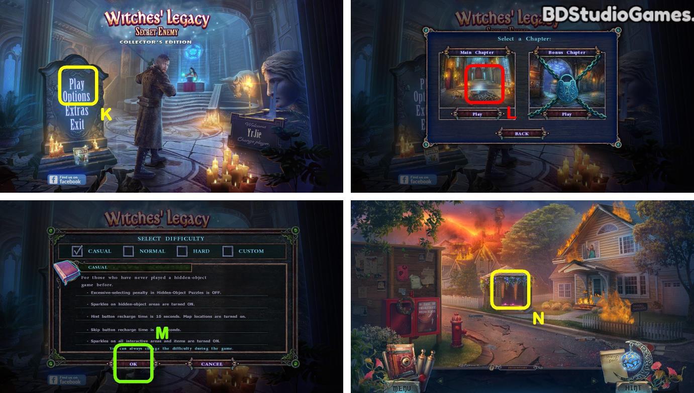 Witches Legacy: Secret Enemy Walkthrough Screenshot 0001