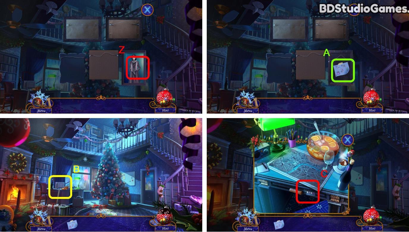 Yuletide Legends: Who Framed Santa Claus Walkthrough Screenshot 0004