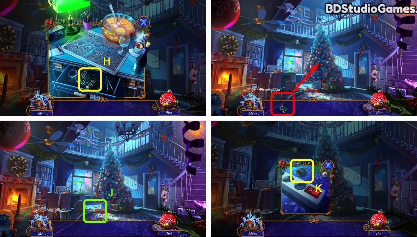 Yuletide Legends: Who Framed Santa Claus Walkthrough Screenshot 0006