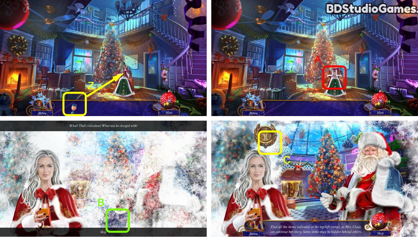 Yuletide Legends: Who Framed Santa Claus Walkthrough Screenshot 0010