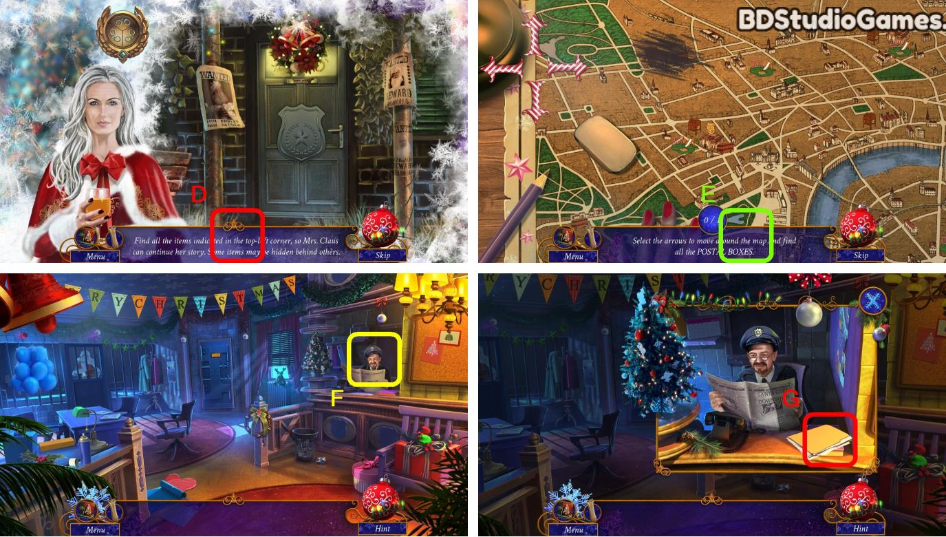Yuletide Legends: Who Framed Santa Claus Walkthrough Screenshot 0011