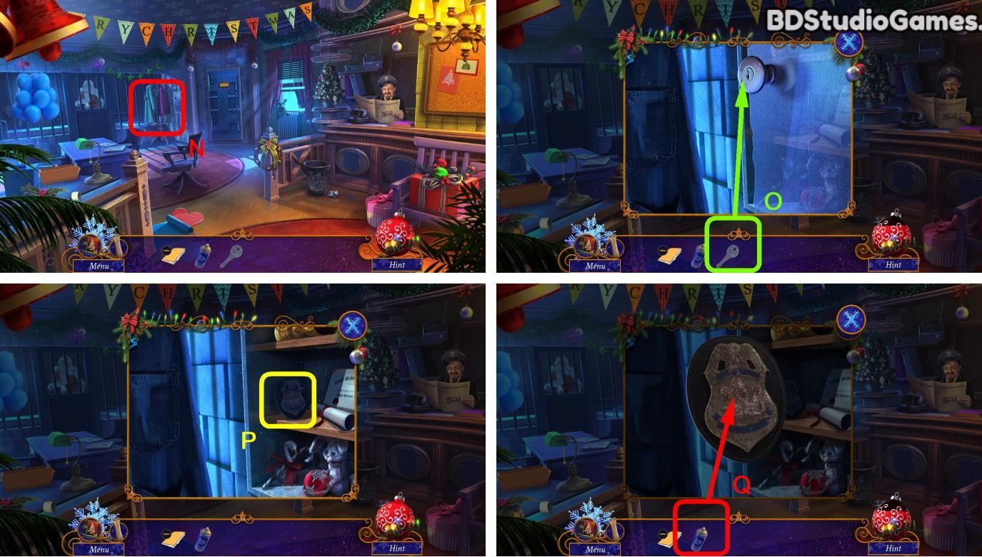 Yuletide Legends: Who Framed Santa Claus Walkthrough Screenshot 0020
