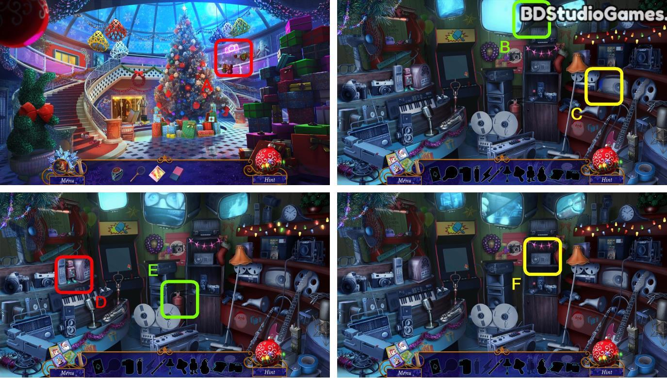Yuletide Legends: Who Framed Santa Claus Walkthrough Screenshot 0061