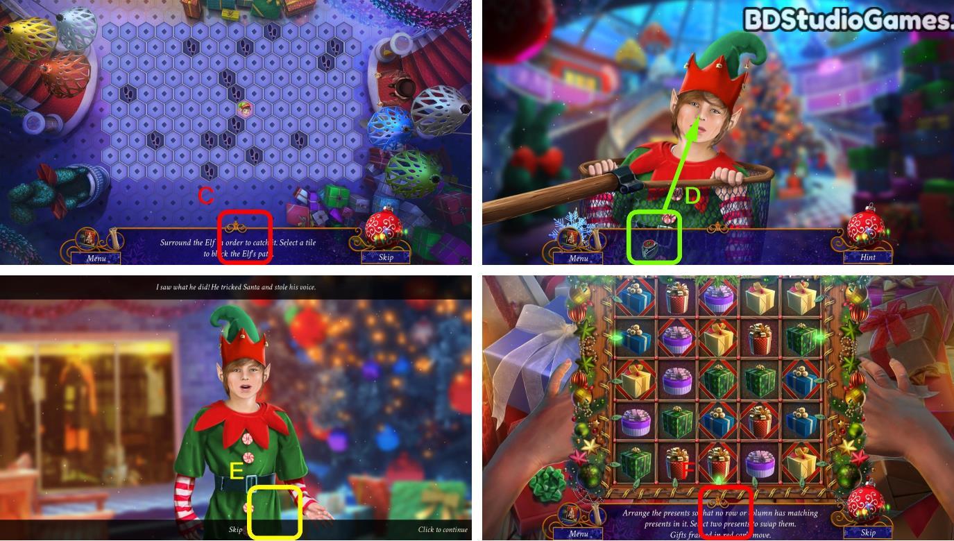 Yuletide Legends: Who Framed Santa Claus Walkthrough Screenshot 0074