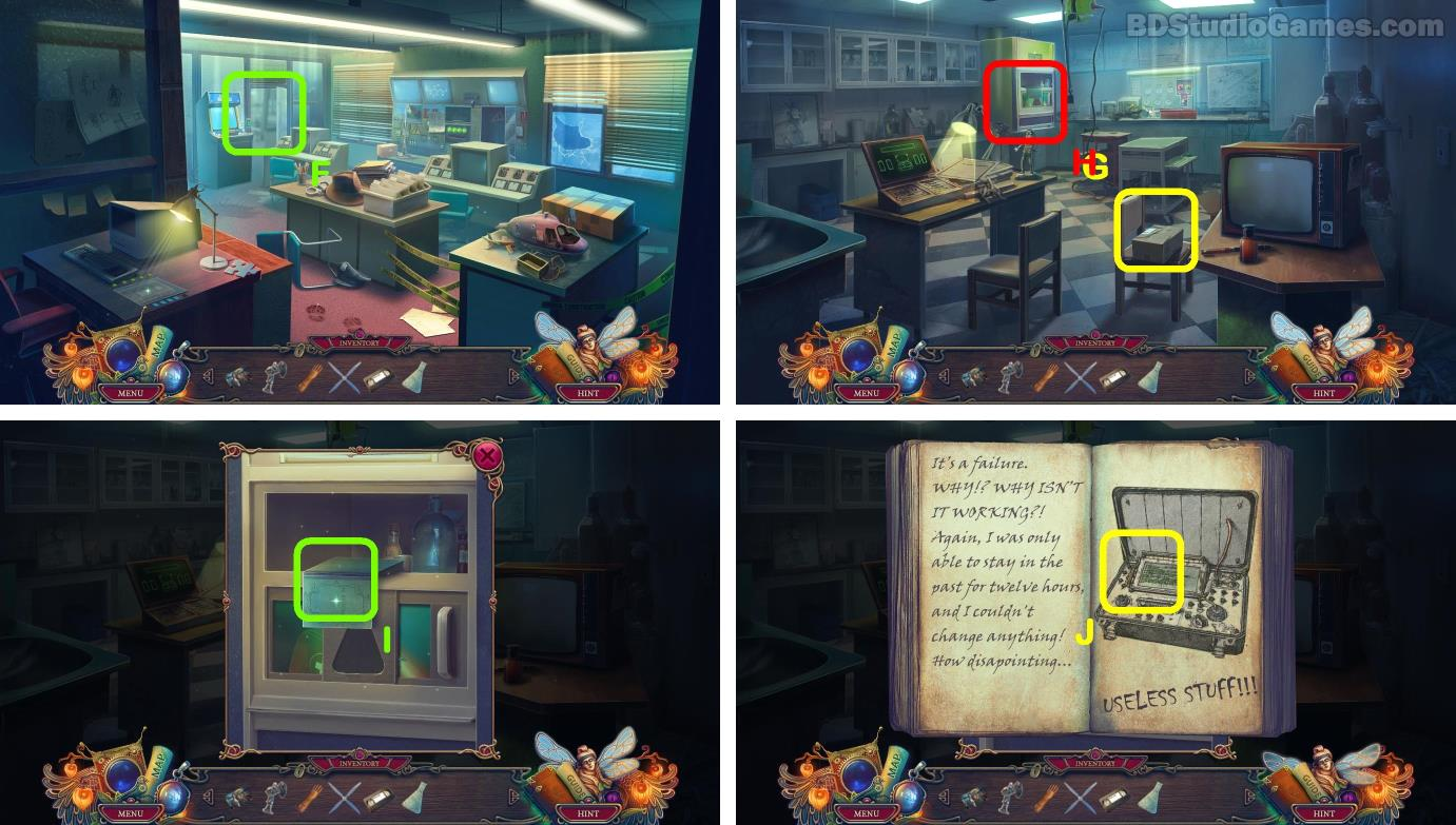 The Keeper of Antiques: Shadows From the Past Walkthrough Screenshot