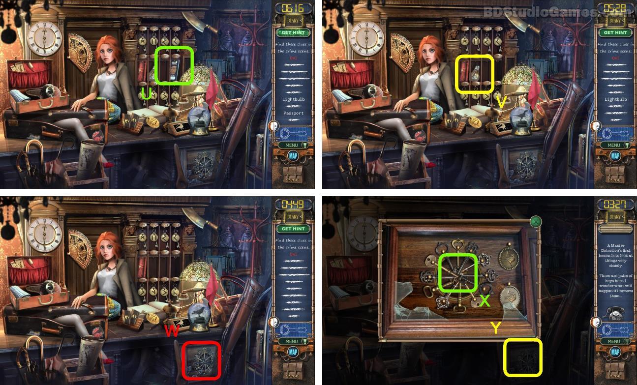 Mystery Case Files: Rewind Walkthrough Screenshot