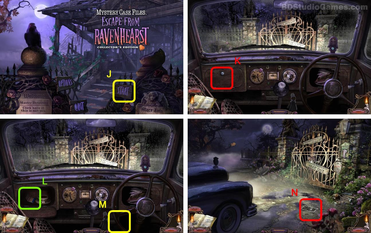 Mystery Case Files: Escape from Ravenhearst Walkthrough Screenshot